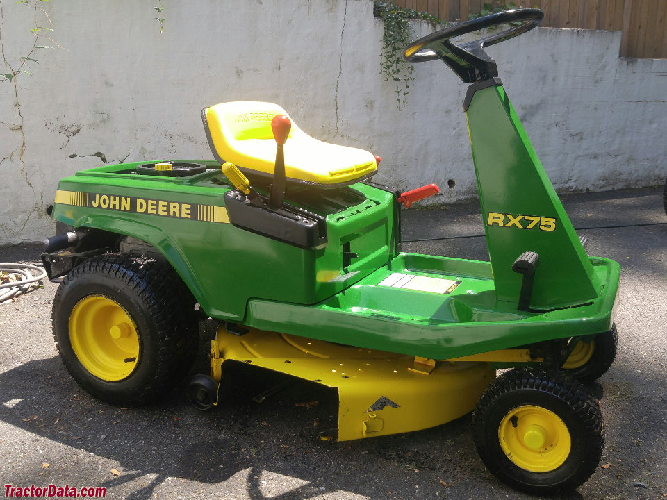 TractorData.com John Deere RX75 tractor information on john deere 345 wiring-diagram, john deere f925 wiring diagram, john deere gx335 wiring diagram, john deere lx279 wiring diagram, john deere x324 wiring diagram, john deere 145 wiring-diagram, john deere s82 wiring diagram, john deere 445 wiring-diagram, john deere sx85 wiring diagram, john deere 4430 wiring-diagram, john deere model a wiring diagram, john deere lawn tractor electrical diagram, john deere z225 wiring-diagram, john deere ignition wiring diagram, john deere gx95 wiring diagram, john deere 990 wiring diagram, john deere x495 wiring diagram, john deere lx280 wiring diagram, john deere r72 wiring diagram, john deere x534 wiring diagram,