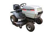 White LGT-160 lawn tractor photo