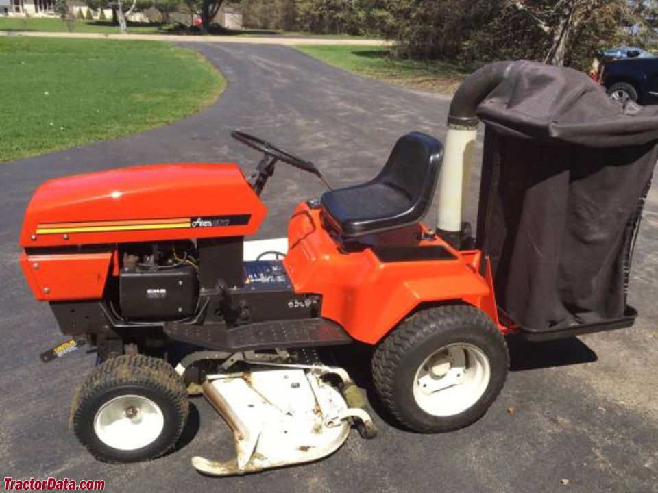 Ariens GT17 with 48-inch mower deck and Ariens Bagger-Vac.