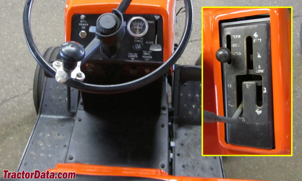 Ariens S-14H  transmission photo