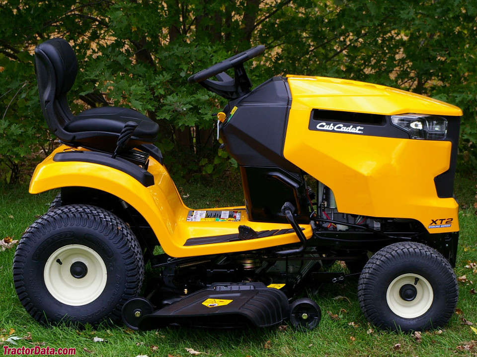 Cub Cadet XT2 LX46 with stamped deck.
