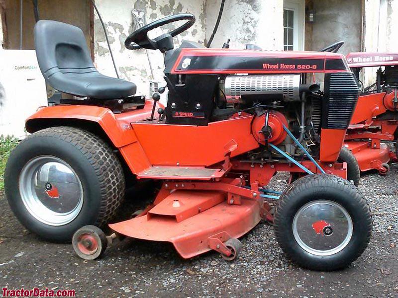 Wheel Horse 520-8 gear drive.