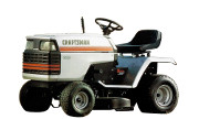Craftsman 917.25581 YT 14 lawn tractor photo