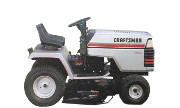 Craftsman 917.25582 YT 16 lawn tractor photo