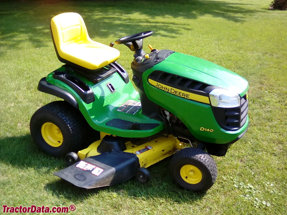 John Deere D140 lawn tractor.