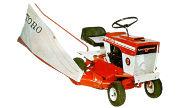 Toro 6 HP 57101 lawn tractor photo