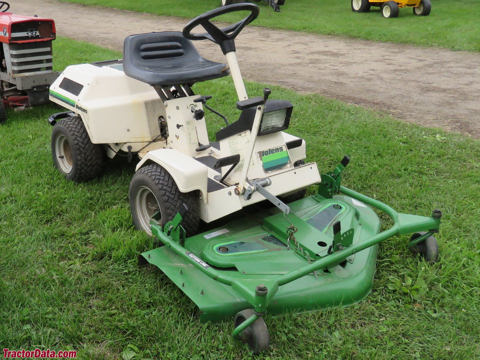 Bolens FS-11 942 with front-mount mower deck.