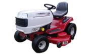 White LT-5000 13AP60TP090 lawn tractor photo