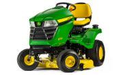 John Deere X330 lawn tractor photo