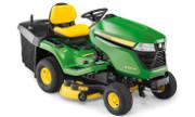 John Deere X350R lawn tractor photo