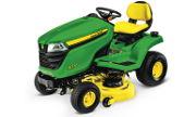 John Deere X370 lawn tractor photo