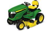 John Deere X394 lawn tractor photo