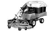 Simplicity 12.5FCH42 lawn tractor photo