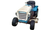 Homelite T-13S lawn tractor photo