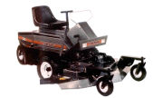 White FR-18 Turf Boss lawn tractor photo