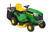 John Deere X135R lawn tractor photo
