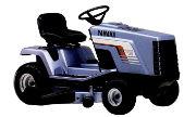 Yamaha YT6800 lawn tractor photo