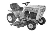 AMF 1261 lawn tractor photo