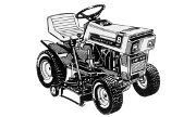 AMF 1281 836 lawn tractor photo