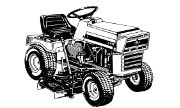 AMF 1282 lawn tractor photo
