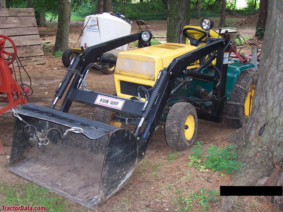 MTD Yard-Man 999 with Kwik-Way loader.