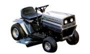 White T-102 lawn tractor photo