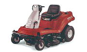 White ZT 1850 lawn tractor photo