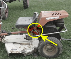 Allis Chalmers 405 serial number location