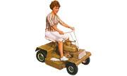 Bolens 8626 Suburban lawn tractor photo