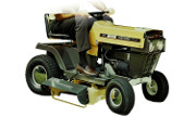 Craftsman 131.9661 lawn tractor photo