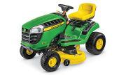 John Deere E110 lawn tractor photo