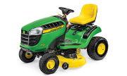 John Deere E120 lawn tractor photo