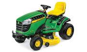 John Deere E130 lawn tractor photo