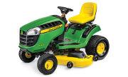 John Deere E140 lawn tractor photo