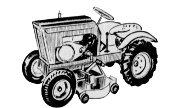 Burns B-60-E Suburban lawn tractor photo
