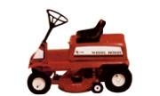 Wheel Horse E-81 lawn tractor photo