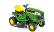 John Deere X106 lawn tractor photo