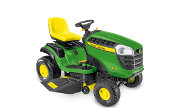 John Deere X126 lawn tractor photo