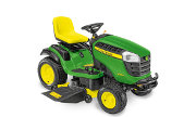 John Deere X166 lawn tractor photo