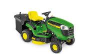 John Deere X116R lawn tractor photo