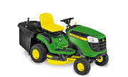 John Deere X146R lawn tractor photo