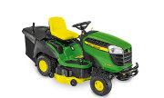 John Deere X166R lawn tractor photo