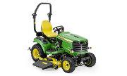 John Deere X948 lawn tractor photo