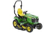John Deere X949 lawn tractor photo