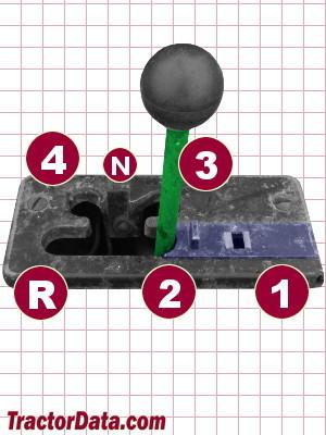 John Deere 112 transmission controls