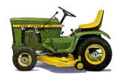 John Deere 112 lawn tractor photo