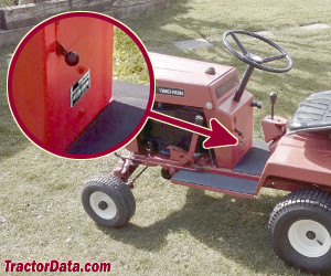 Yard-Man 3390 serial number location