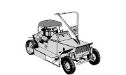Yard-Man 3050 lawn tractor photo