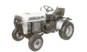 White GT-1822 lawn tractor photo