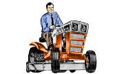 Sears Custom 8XL 917.25490 lawn tractor photo